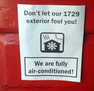 Historic air conditioning! Go America!