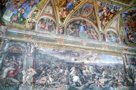 Michelangelo wasn't the only one to paint the Vatican walls