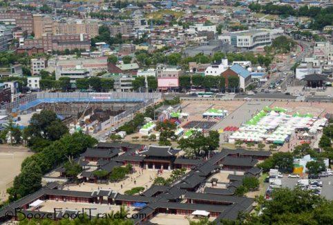 Overlooking Haenggung