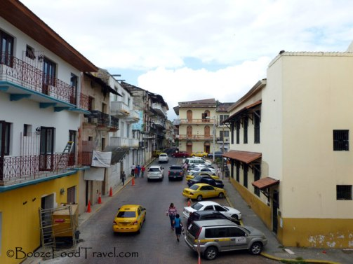 Most of Casco Viejo was a construction site