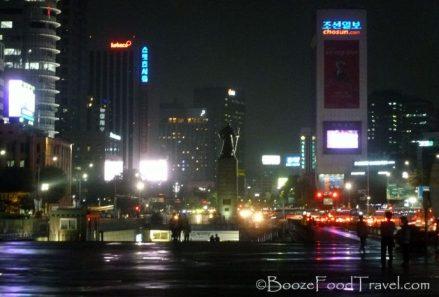 Admiral Yi Sun-Sin in Gwanghwamun Square