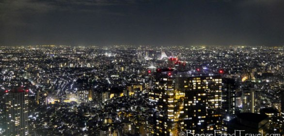 The free view of Tokyo