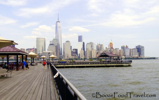 First time I got to see the finished World Trade Center