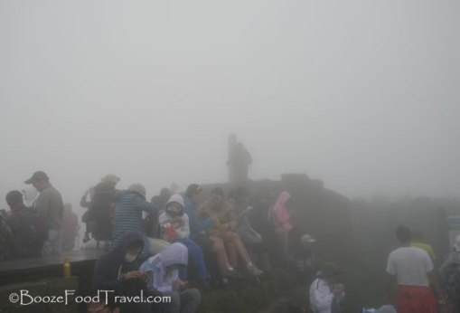 We reached the peak of Qixingshan