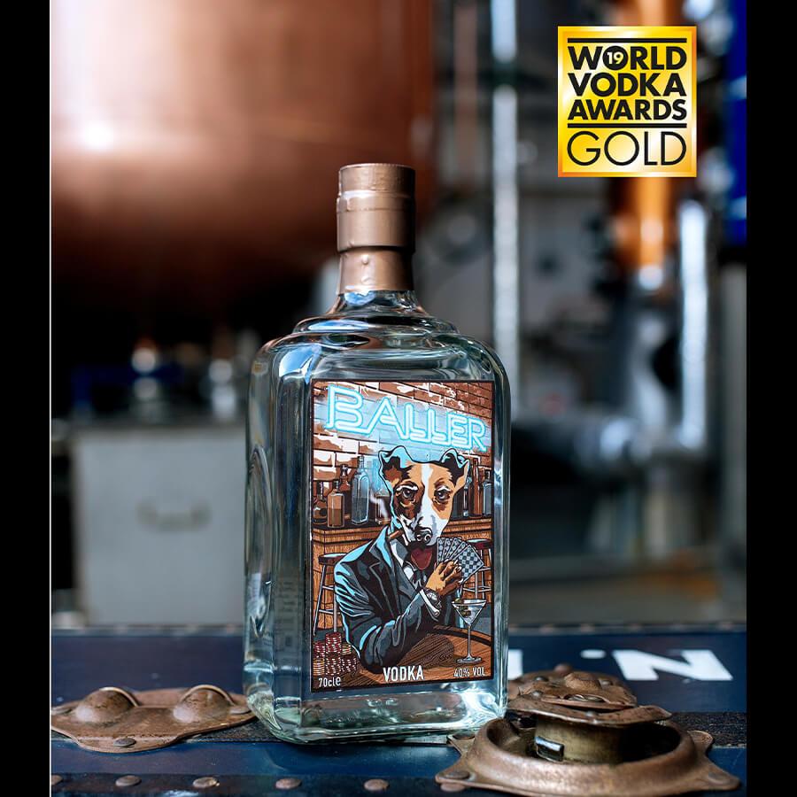 Baller Vodka Gold Medal