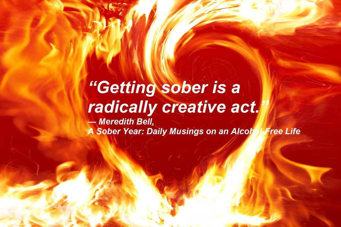 Raging fire, analogy to Alcohol - join Boom Community Rethink the Drink