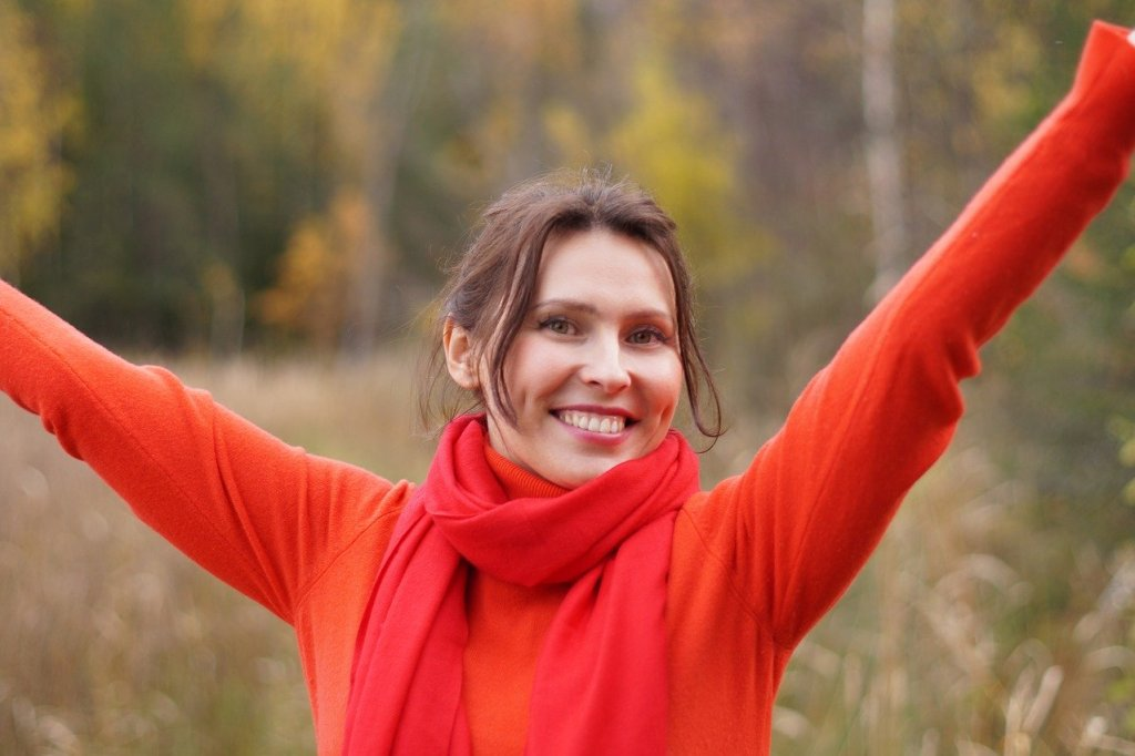 Happy Woman-I'll Stick to Sobriety – You can Keep your Wine!