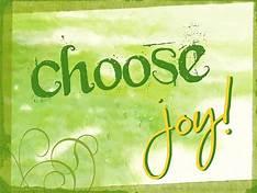 Choose Joy One month sober