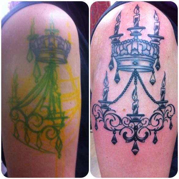 "Fixup tattoo design by Eddie ""Lefty Bastard"" Molina"