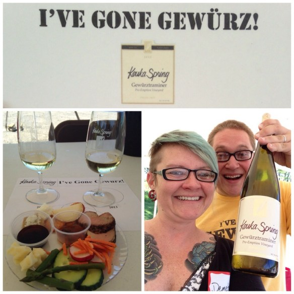 August and I Go Gewurz