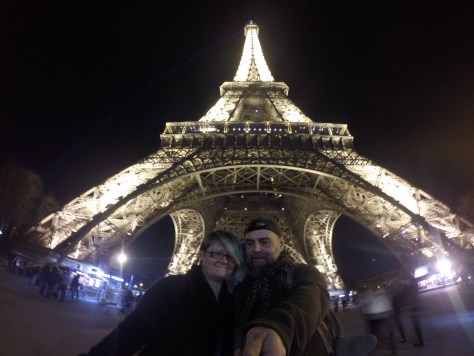 Me and Lefty at the Eiffel