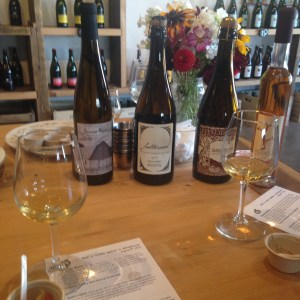 Eve's Cidery flight