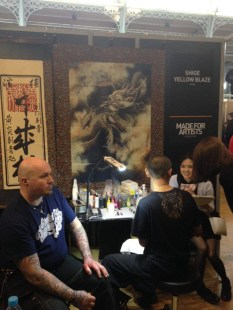 Shige tattooing photo Dawn Danroth