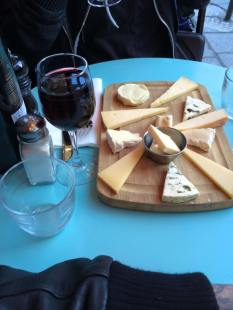 Cheese and Wine in Paris, Dawn Danroth