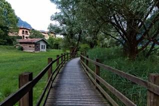 A path around the lake