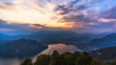 Balcone d'Italia with a view of Lugano