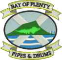 Bay of Plenty Pipes & Drums Logo