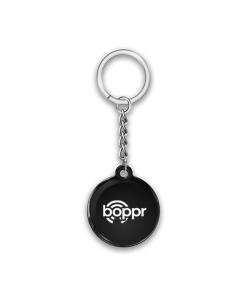 Boppr Black Keychain