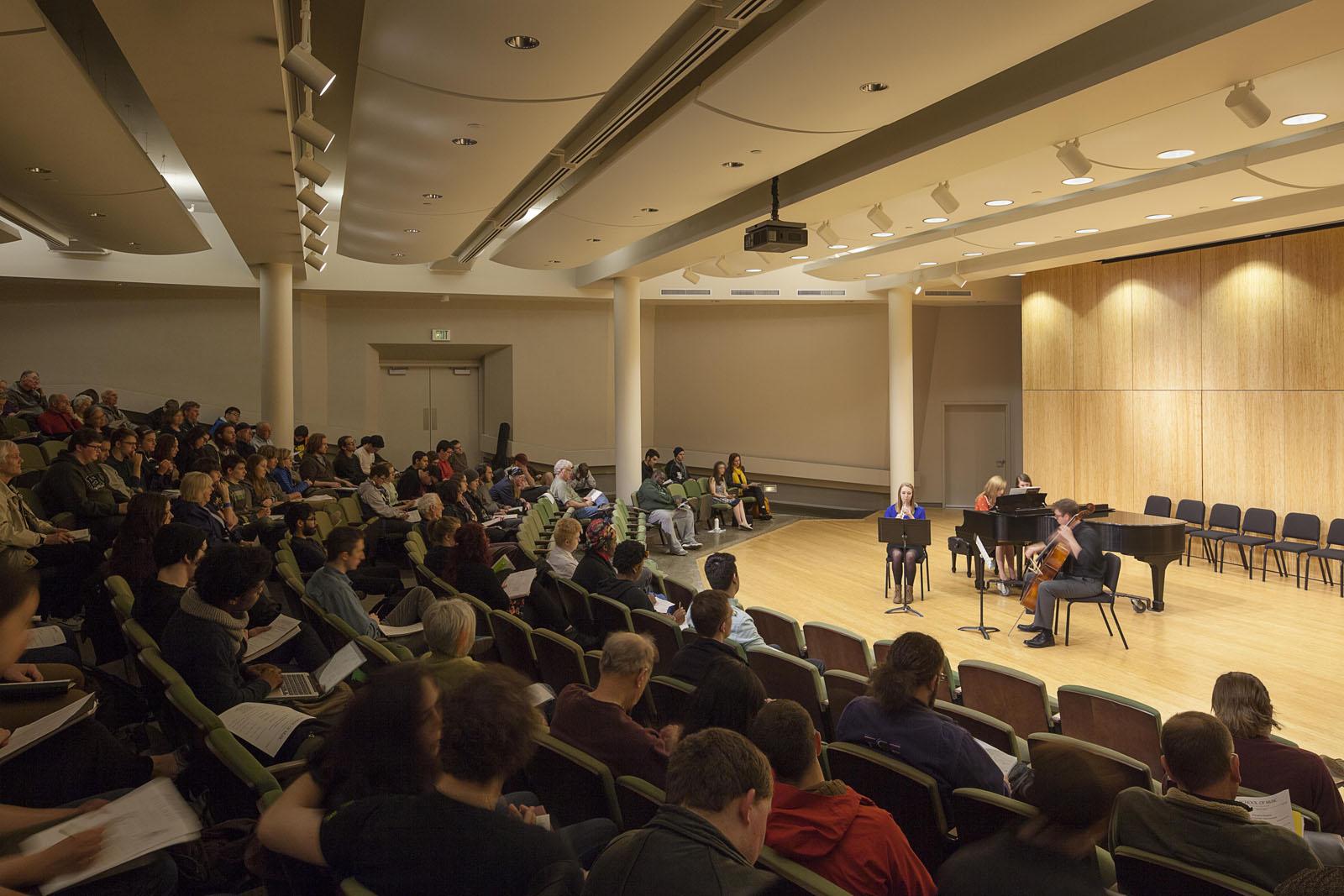 Portland State University Lincoln Hall Renovation Bora