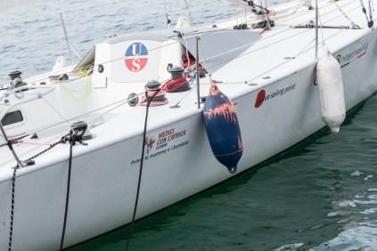 Una delle barche partecipanti