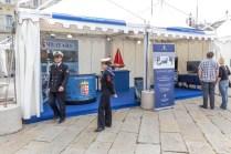Lo stand della Marina Militare Italiana