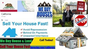 Sell My House Fast in California