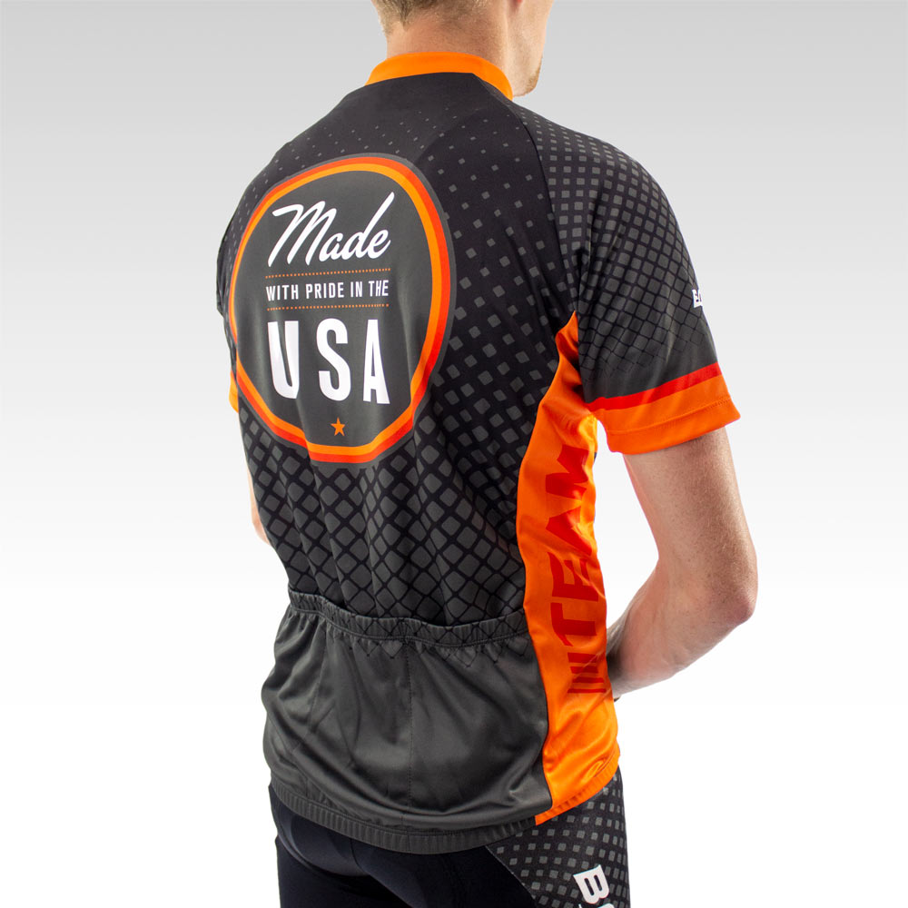 Team Cycling Jersey Side