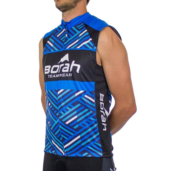 Custom Team Sleeveless Cycling Jersey