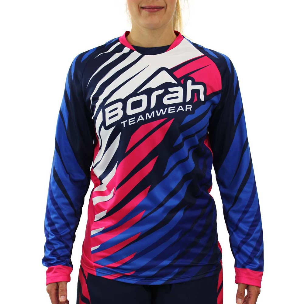 Custom Women's Freeride Long Sleeve MTB Jersey