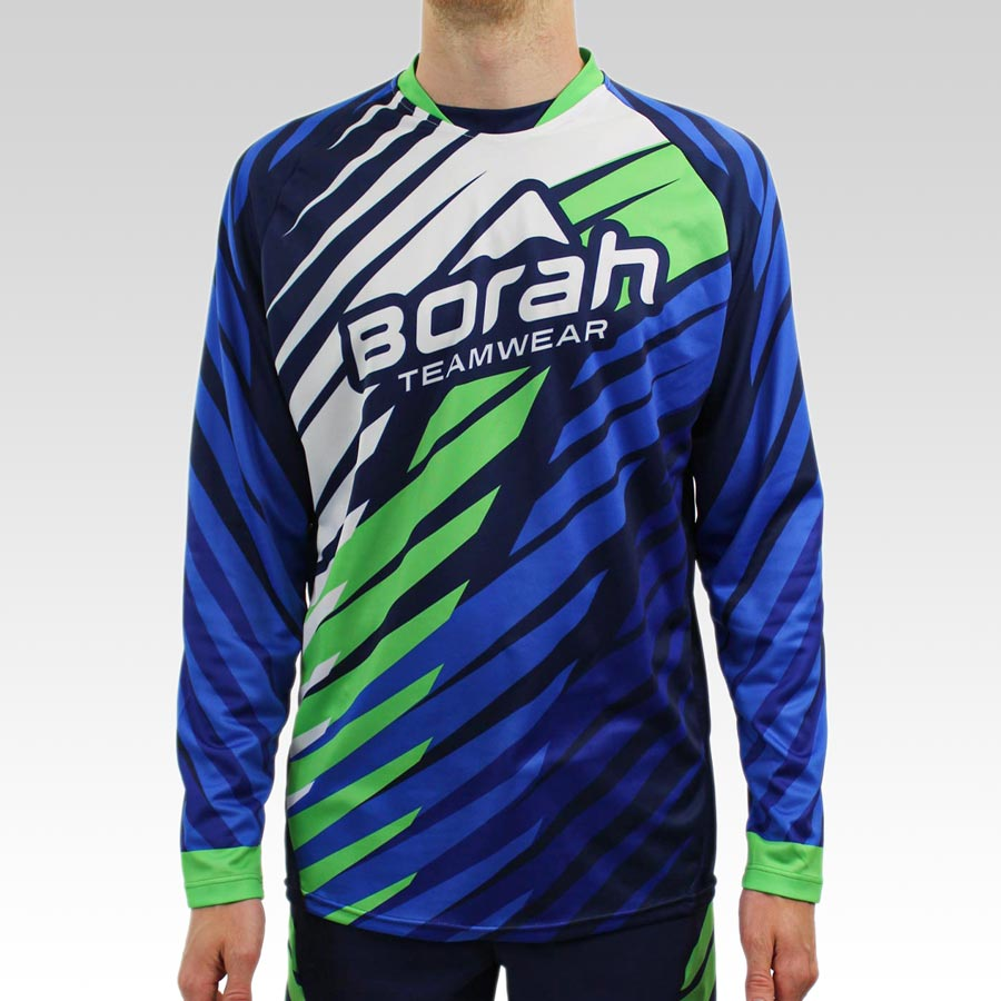 Freeride Long Sleeve MTB Jersey - Front