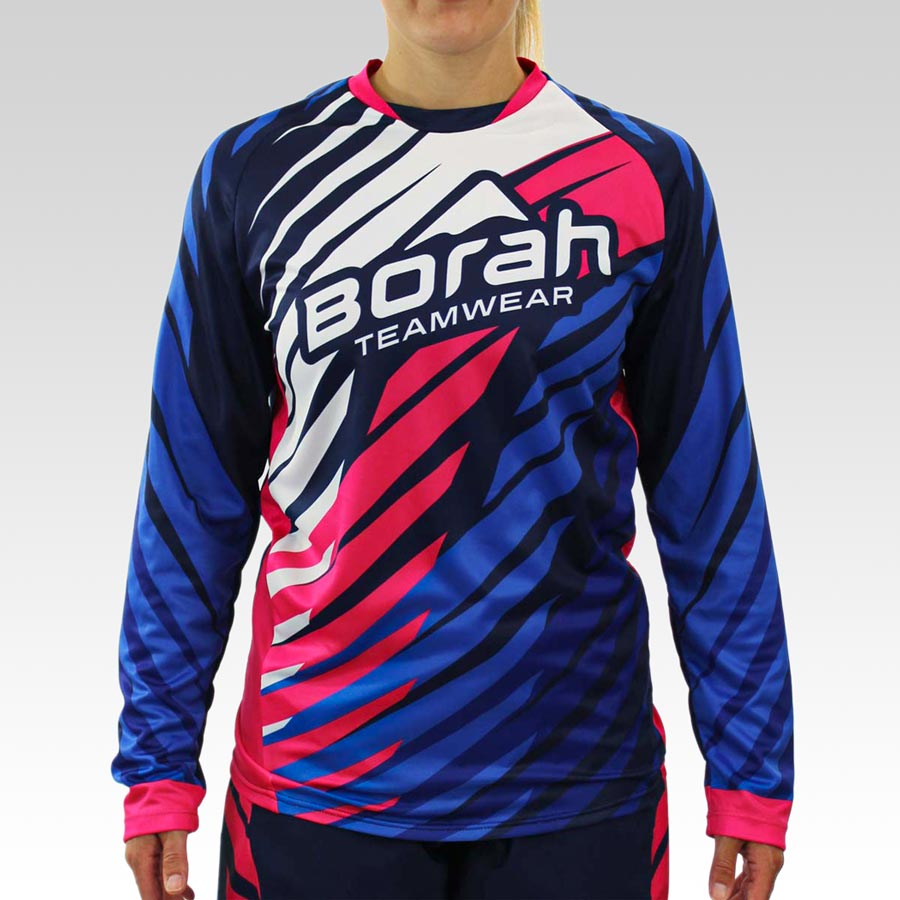 Women's Freeride Long Sleeve MTB Jersey - Front