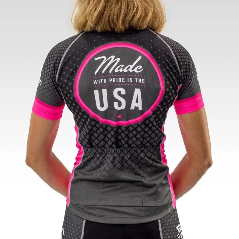 Women's Pro Cycling Jersey - Back