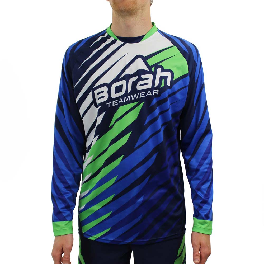 Custom Freeride Long Sleeve MTB Jersey