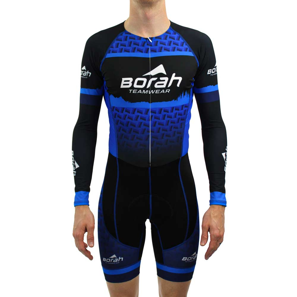 Custom Pro Long Sleeve Cycling Skin Suit