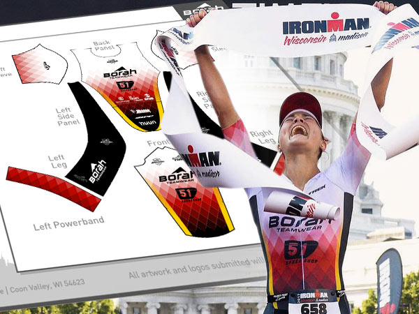 Tri & Run Art Templates