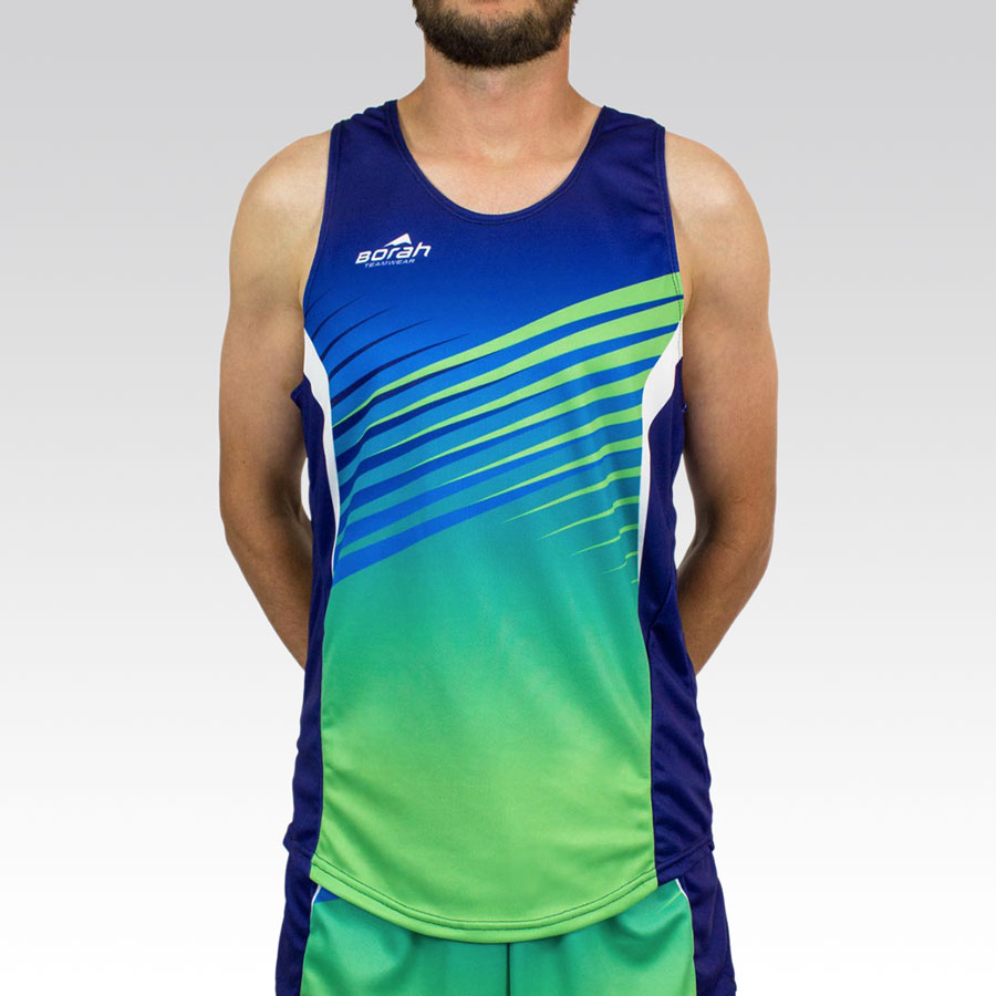 Team Running Singlet Gallery1
