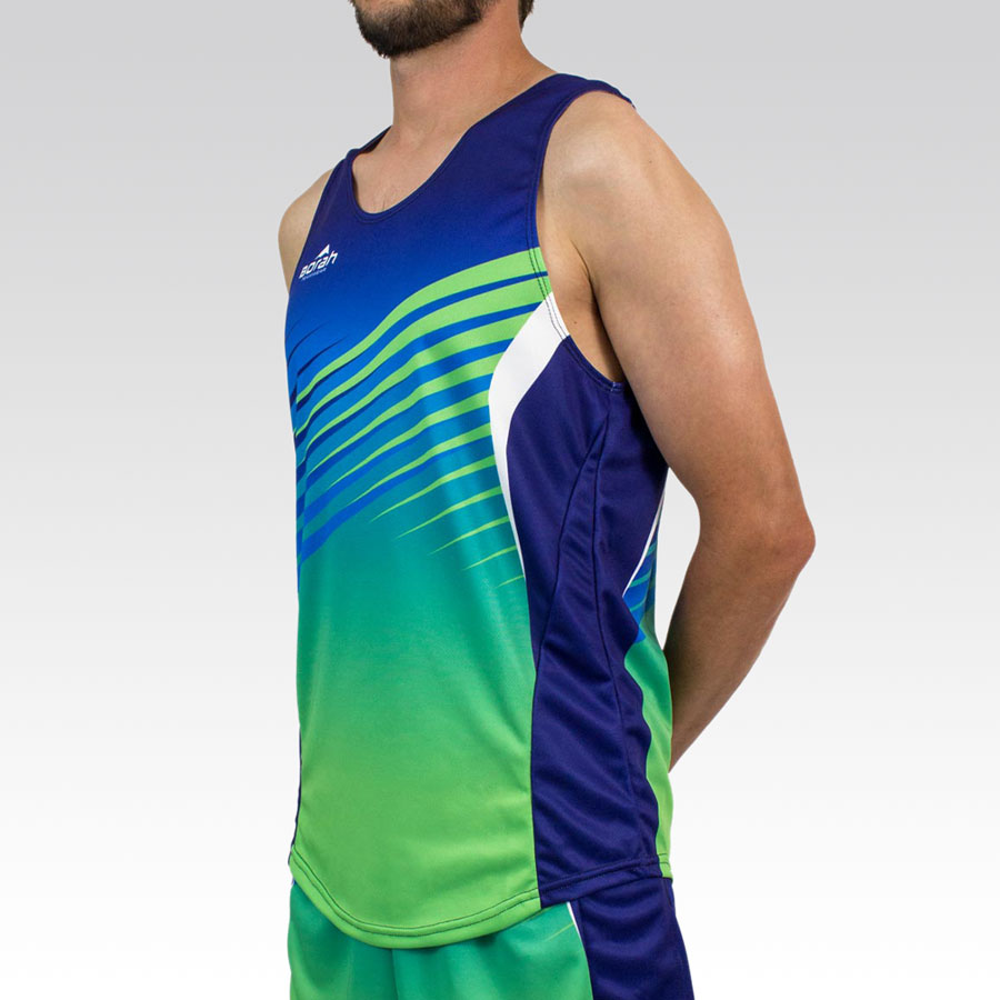 Team Running Singlet Gallery2