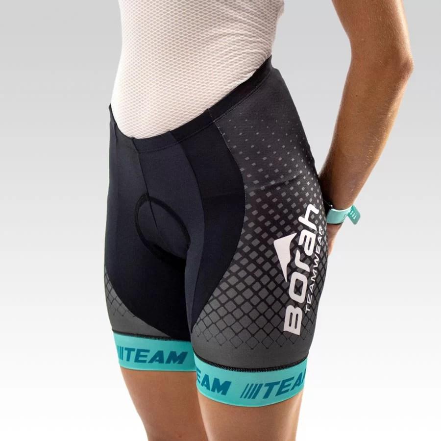 Women's Team Cycling Short Gallery1