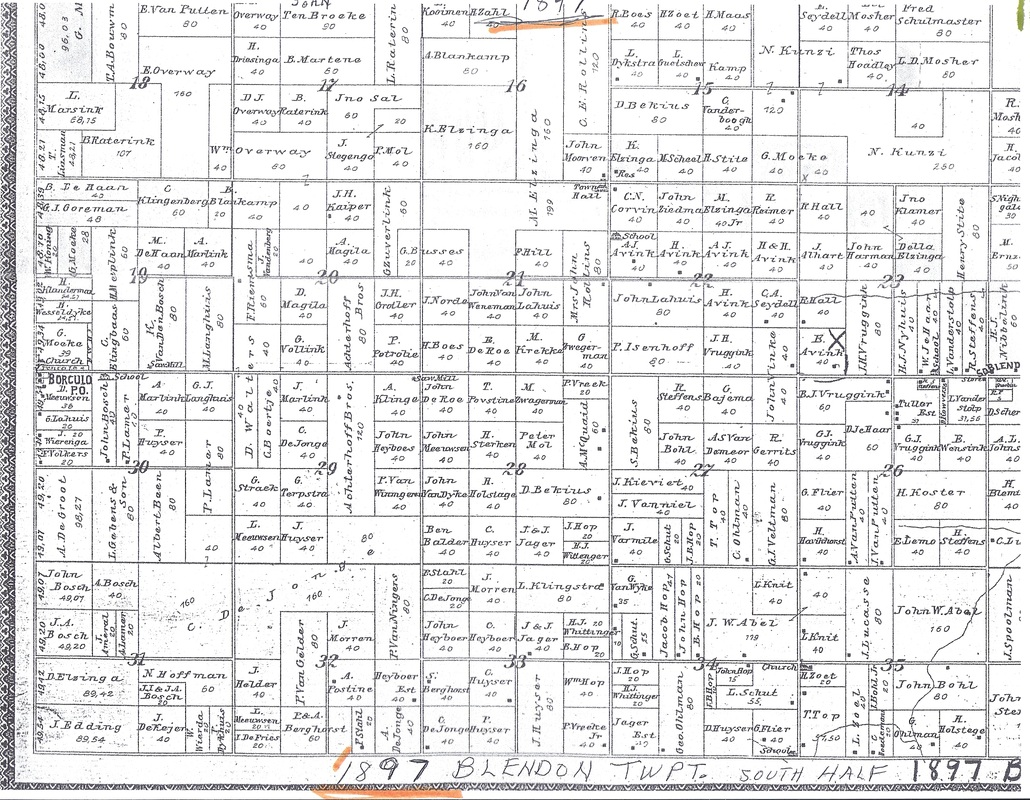 Blendon Amp Olive Plot Maps