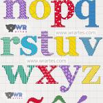 alfabeto minusculo ponto cruz wagner reis 2
