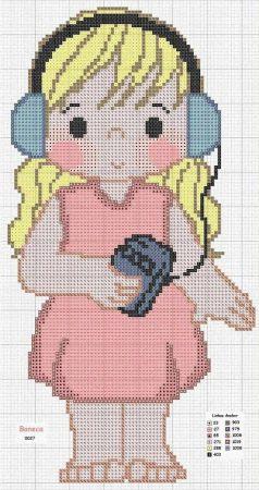 boneca menina 28