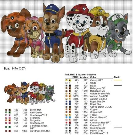 patrulha canina 147x67