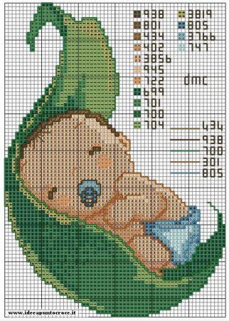 Coleção de Gráficos para Bebê 16