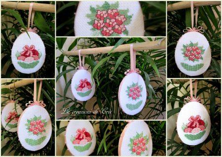 PAP Ovos Decorativos para a Páscoa BordadoPontoCruz 07