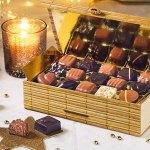 Asortiments de chocolats en vente pour Noël