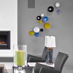 Een speelse combinatie in een modern interieur