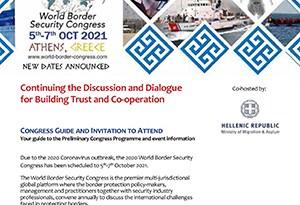Latest World Border Security Congress Agenda