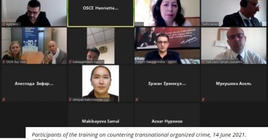 OSCE and Permanent Mission of Turkey to the OSCE organize online training on countering transnational organized crime