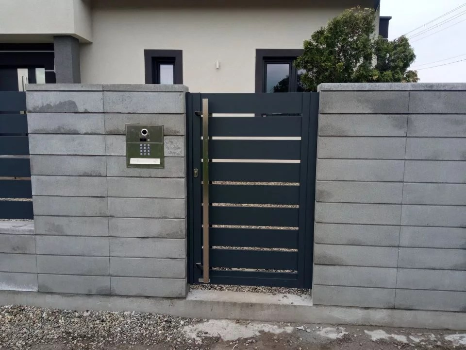 ALUgate BORDER ogrodzenie aluminiowe AG150