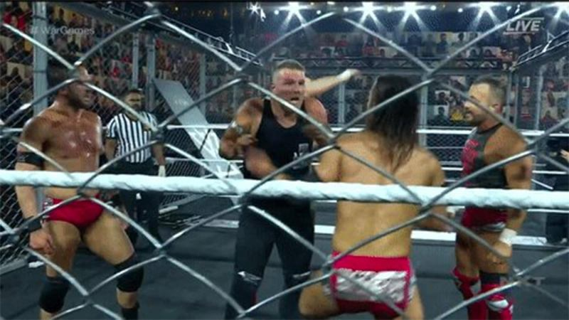 NXT Went To War With Two Wargames Matches